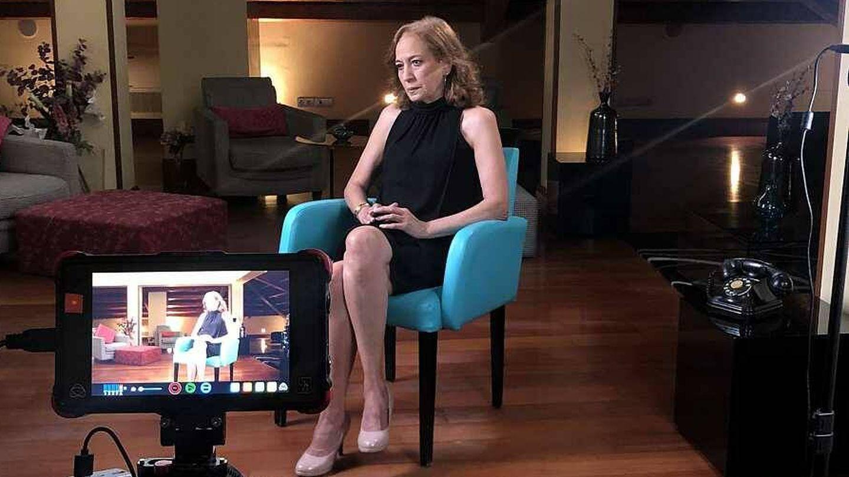Carmen Gila, durante la entrevista en 'Lazos de sangre'. (TVE)