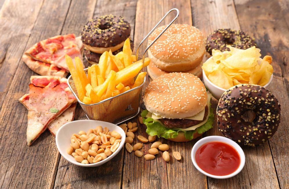 Foto: Varios productos de 'fast food'. (iStock)