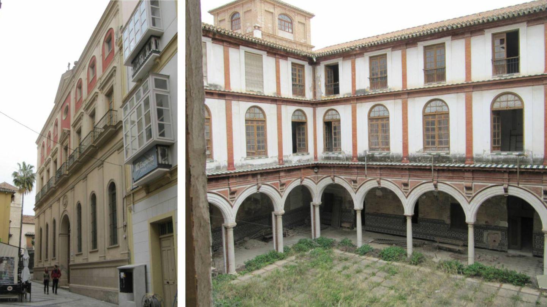 Convento de San Agustín en Málaga.