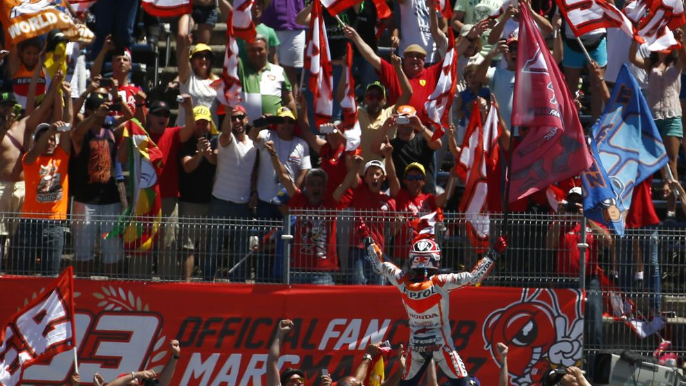 El club de fans de Márquez en Italia no acudirá a Mugello al recibir amenazas