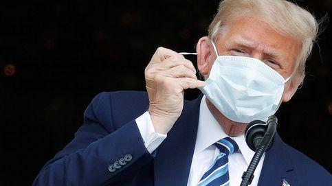 Trump reaparece en público 10 días después del positivo: Me siento estupendamente