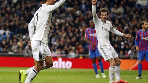Gareth Bale y Cristiano Ronaldo descargaron su ira antes del Barça