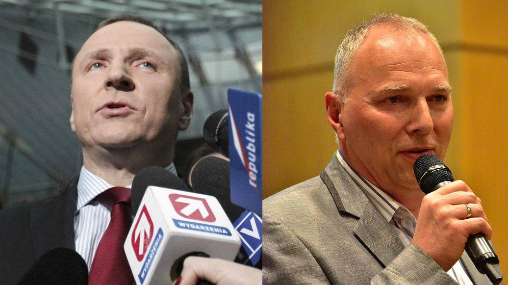 Foto: Los hermanos Kurski, Jacek (i) y Jaroslaw (d), periodistas en extremos opuestos de la trinchera política (Reuters/Wikimedia Commons)