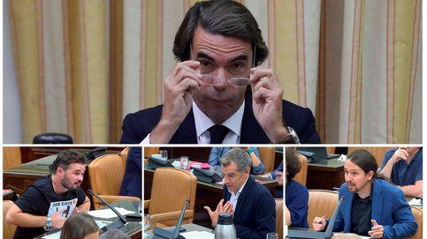 Aznar, contra el eje del mal