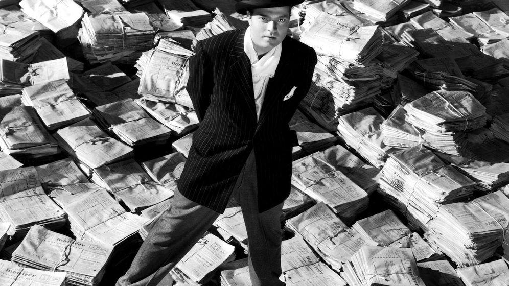 Foto: Orson Welles, en un fotograma de 'Ciudadano Kane' (EC)