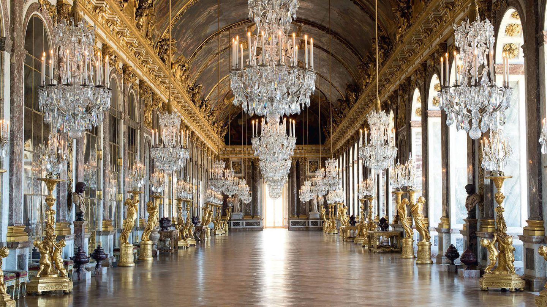 Grande Galerie (de los espejos). 1684. Palacio de Versalles