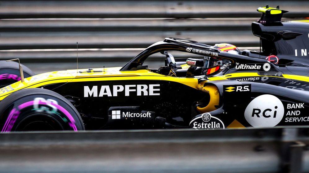 Foto: Carlos Sainz fue 8º en los entrenamientos libres de este viernes. (EFE)