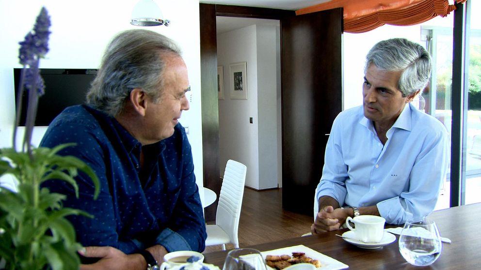 Suárez le dice a Bertín que Julio Iglesias fue el 'autor' de la foto de Adolfo y el Rey