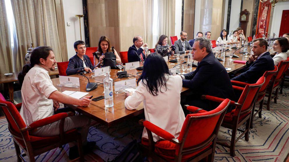 Iglesias reitera su oferta y confía en que Sánchez rectifique ahora o en septiembre