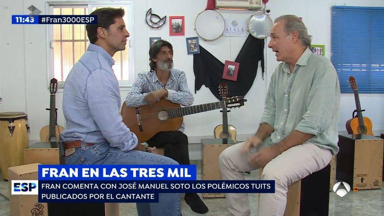 José Manuel Soto en el primer reportaje de Fran Rivera en 'EP'.