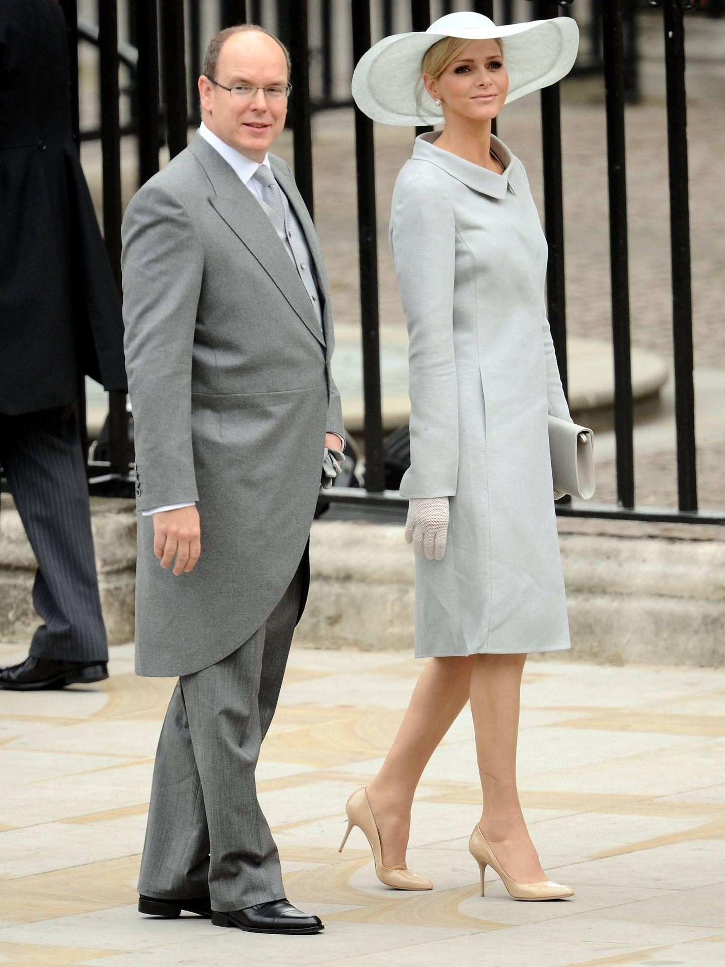 Alberto y Charlène de Mónaco. (CP)