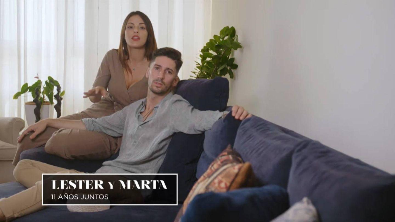 Marta y Lester, una de las parejas de 'La isla de las tentaciones 2'. (Mediaset)