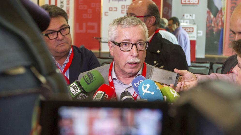 Foto: El secretario general de CCOO, Ignacio Fernández Toxo
