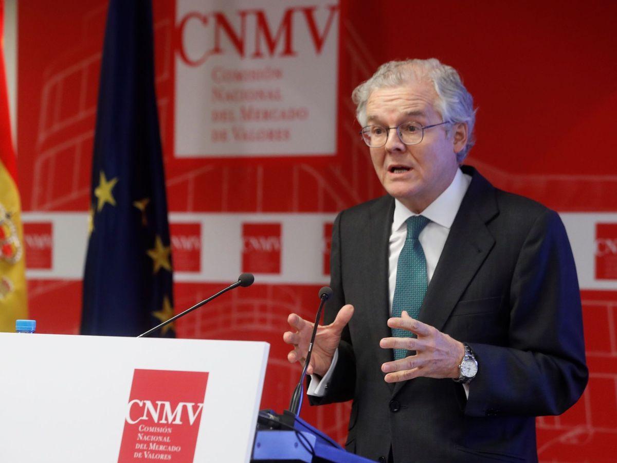 Foto: El presidente de la cnmv, Sebastián Albella (EFE)