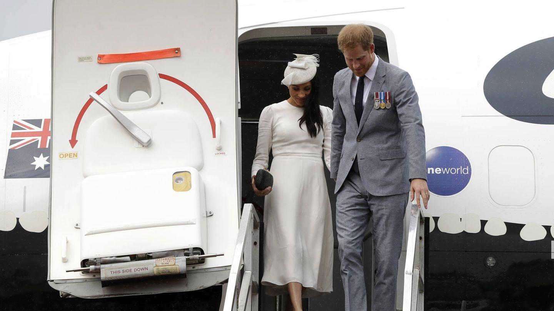 Meghan Markle y el príncipe Harry. (Getty)