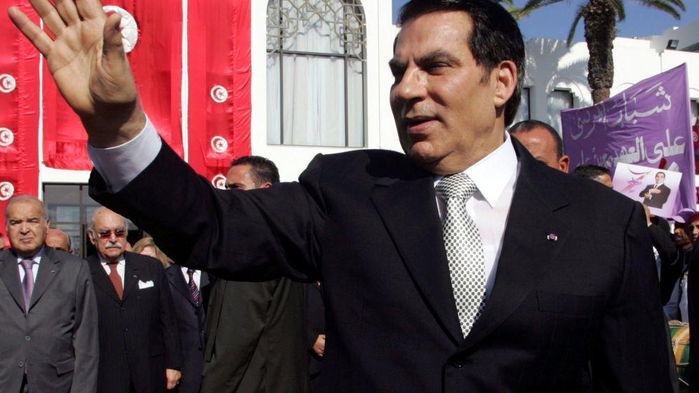 Foto: Foto de archivo del expresidente tunecino Zine al-Abidine Ben Ali. (Reuters)