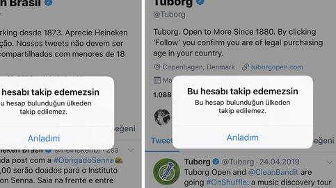 Turquía bloquea los perfiles de Twitter de bebidas alcohólicas