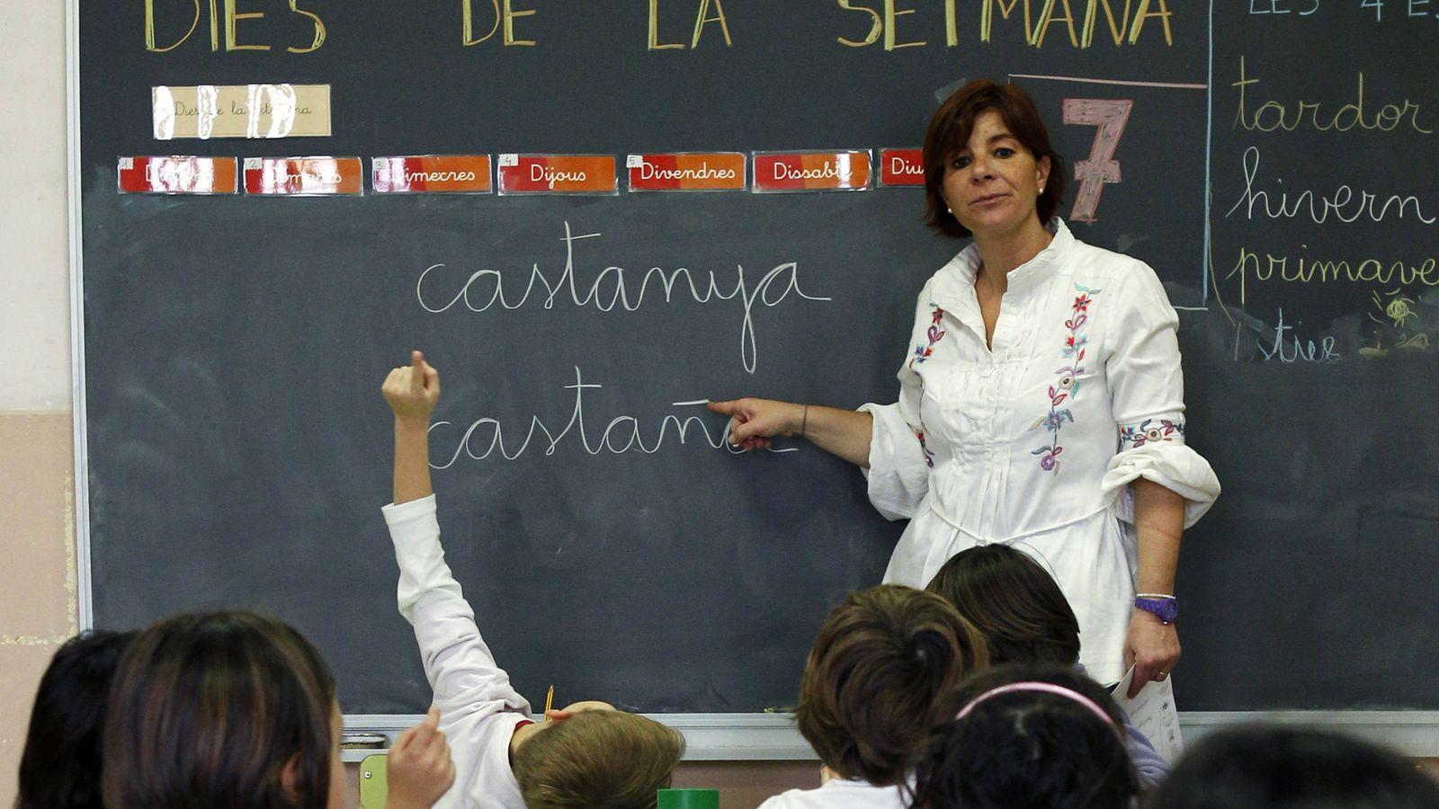 Foto: Una clase en El Masnou, cerca de Barcelona. (Reuters/Albert Gea)