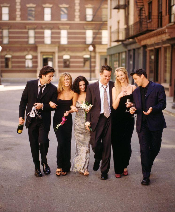 Foto: Los protagonistas de 'Friends'. (Cordon Press)