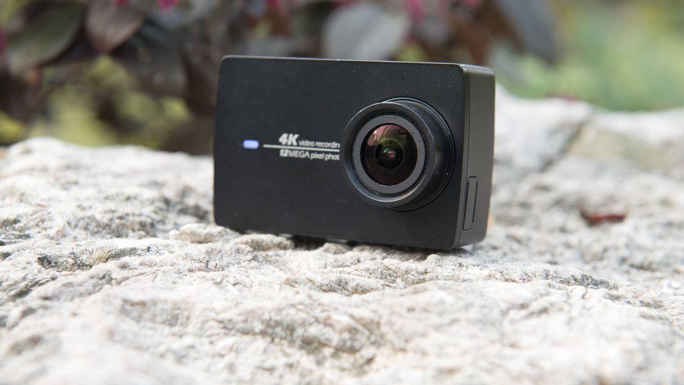 Foto: La cámara de acción de Xiaomi Yi 4K. (Zigor Aldama)