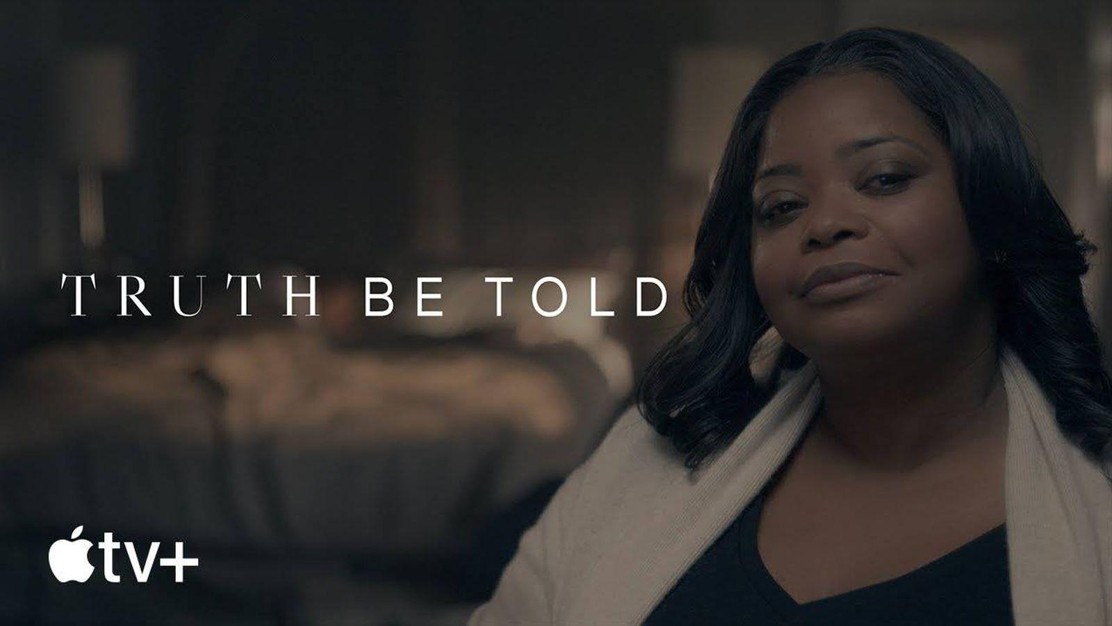 Foto: Imagen promocional de 'Truth Be Told'. (Apple TV )