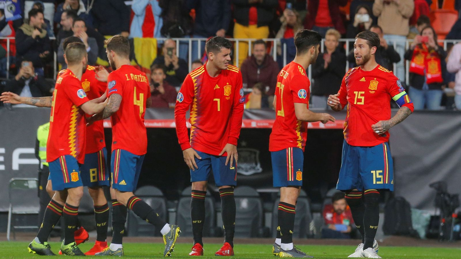 Foto: Euro 2020 qualifier - group f - spain v norway