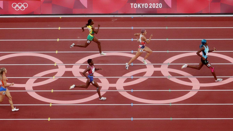 Foto: La pista del Estadio Olímpico de Tokio. (Reuters)