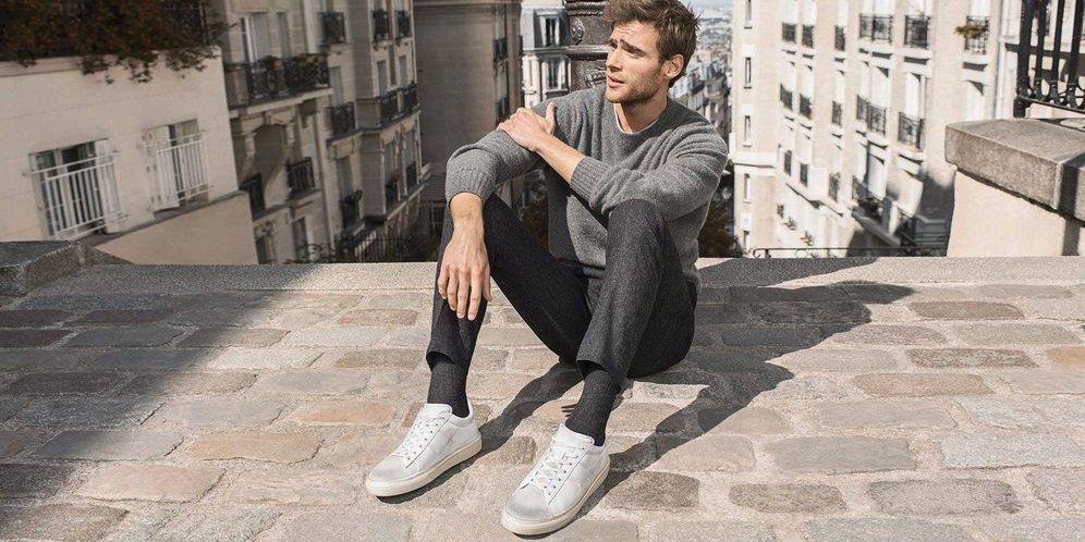 Llevar Cómo A Las Blancas Zapatillas Sin Oficina Hombre Moda La H5xwqYwEg