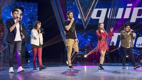 Los primeros cuatro finalistas de 'La Voz Kids' tras una noche llena de emoción
