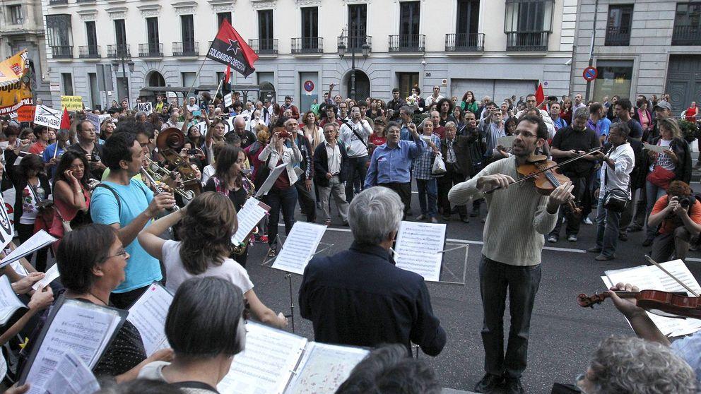 La canción protesta toma la calle