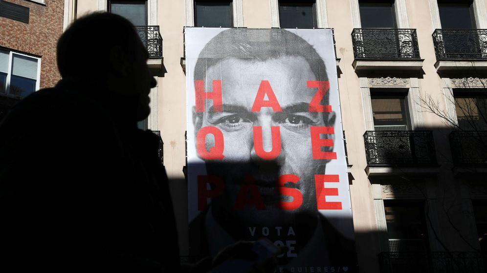 Foto: Cartel de campaña del PSOE. (EFE)