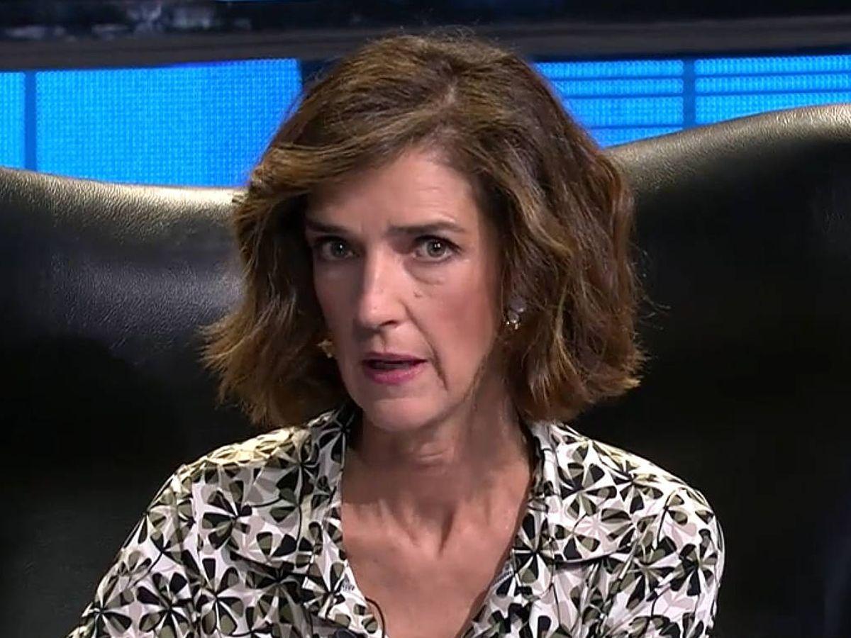 Foto: La periodista Paloma García Pelayo. (Mediaset)