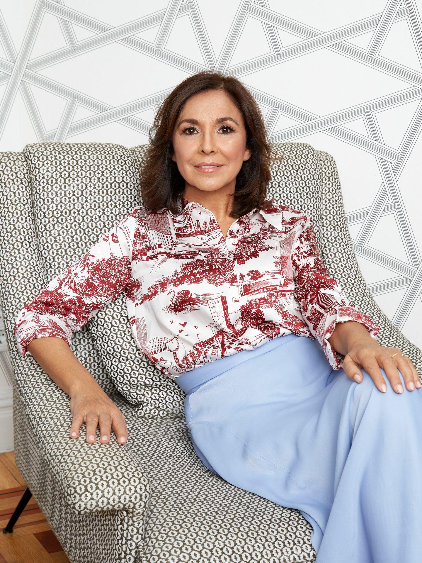 Isabel Gemio presenta su libro 'Mi hijo, mi maestro'.