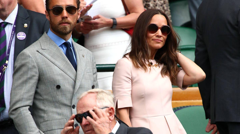 Pippa Middleton y James Middleton. (Getty)