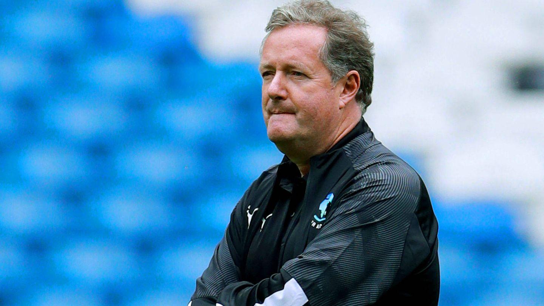 Piers Morgan, en una competición deportiva benéfica. (Reuters)