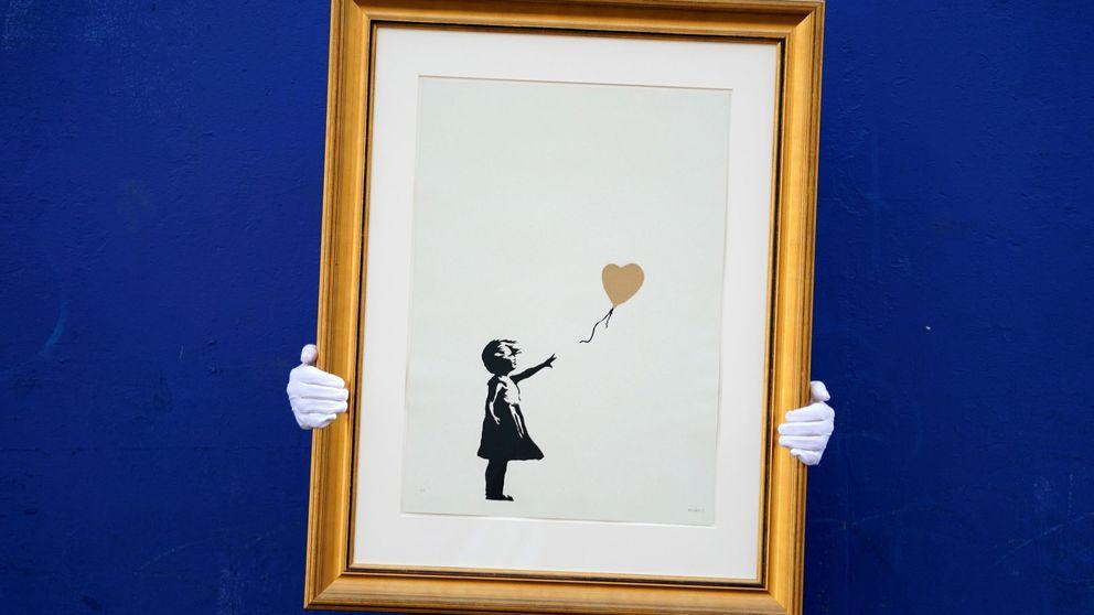 Christie's subasta obras de Banksy y expedición a la EEI: el día en fotos