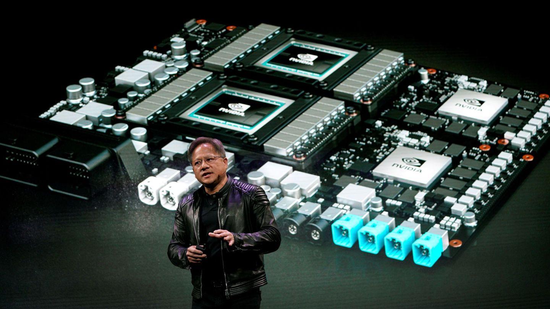 Jensen Huang, CEO of Nvidia. (Reuters)