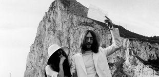 Post de 50 años de la boda de Lennon y Yoko Ono en el