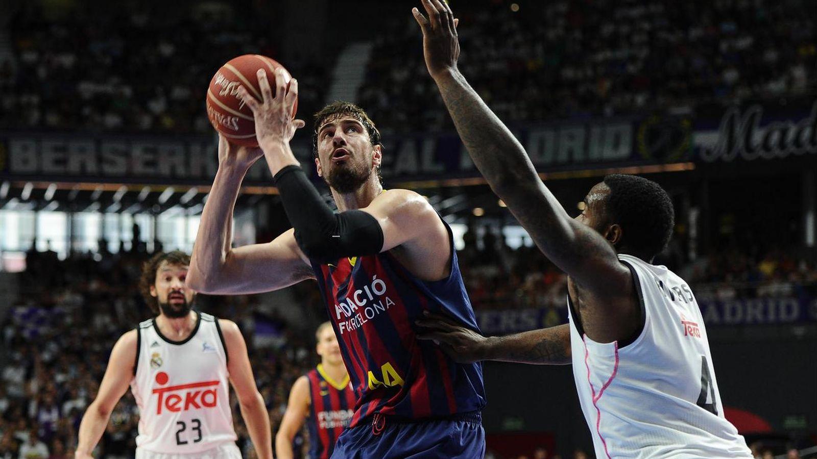 Foto: Tomic promedia 6,5 puntos y 3,5 rebotes en la final (Cordon Press)
