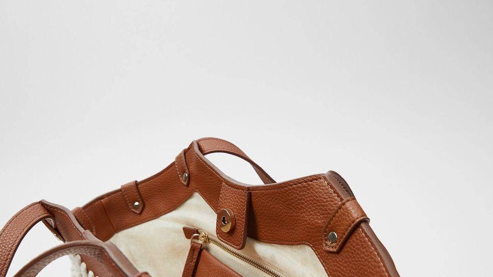 Este bolso 'shopper' de Zara no es de esparto ni rafia y triunfará más que todos