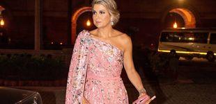Post de Con tiara y un fastuoso sari: Máxima de Holanda, a lo Bollywood en la India