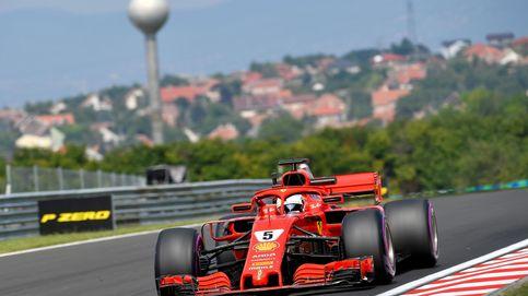 Ferrari y Red Bull cumplen lo esperado y mandan en los Libres de Hungría