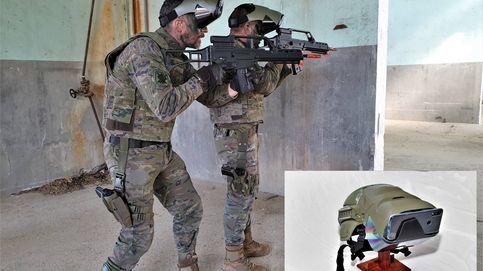 Rifles, sensores y pantallas: así se simula una guerra para no morir en las de verdad