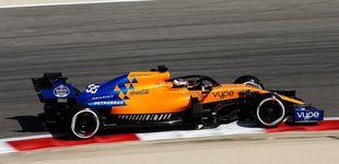 Post de El optimismo de Carlos Sainz con el salto de calidad del McLaren en Baréin
