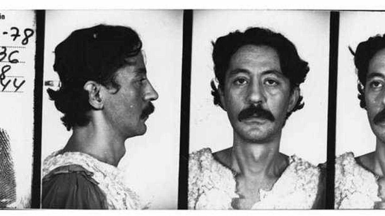 Ficha policial de Nazario en 1978