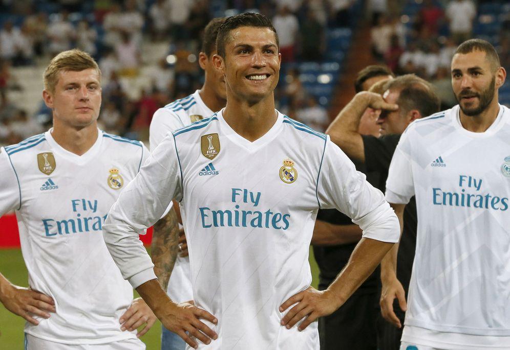 Foto: Cristiano no ha podido jugar todavía un partido oficial en el Bernabéu esta temporada. (EFE)