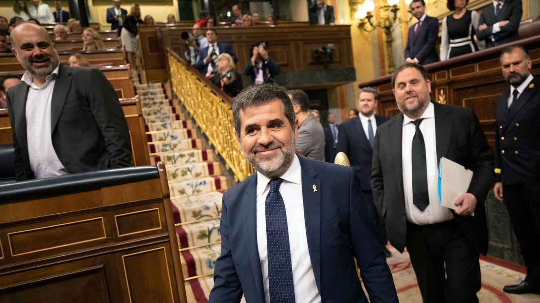 Jordi Sànchez y Oriol Junqueras, o dos modos de negociar la investidura desde la cárcel
