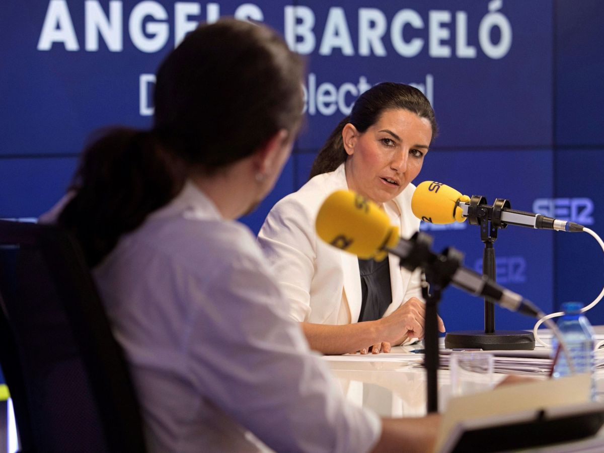 Foto: Debate electoral en la Cadena SER. (EFE)