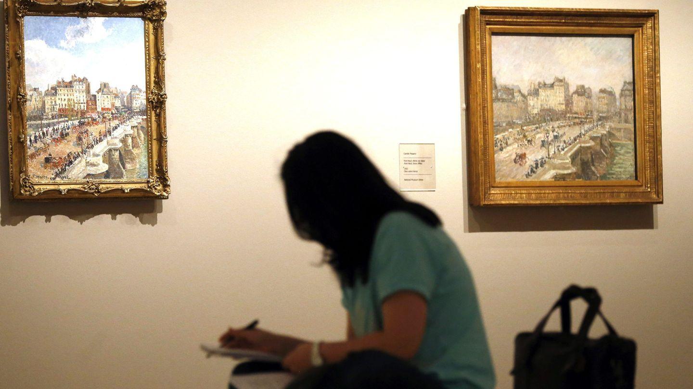 Exposición de Camille Pissarro. (EFE)