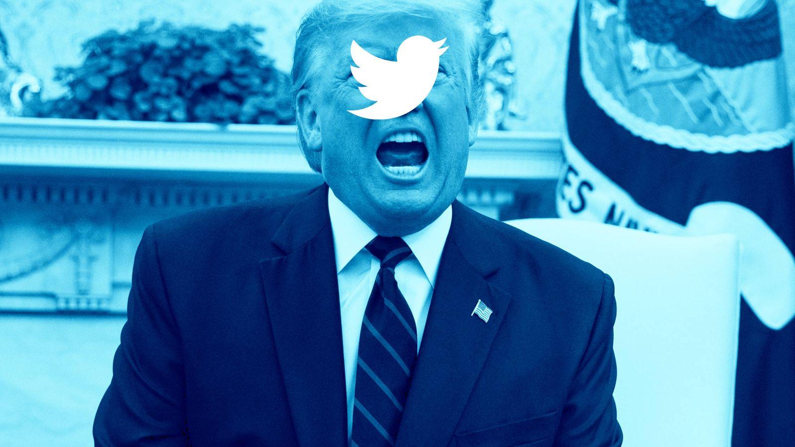 Twitter: Twitter pone a Trump en el punto de mira de su método ...